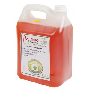 Multipro J1005000 QAC Anti-Bacterial Cleaner Concentrate 5L
