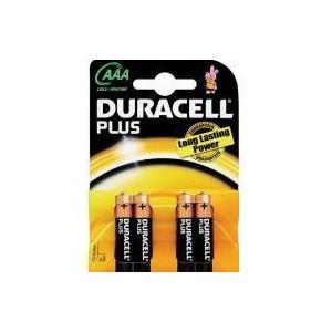 Duracell D023130 Plus Power AAA 4S ( 10 Packs per box )