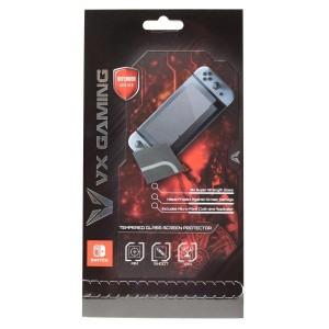 VX Gaming VX-120-CL Defendor Series Glass Screen Protector (Nintedo Switch)