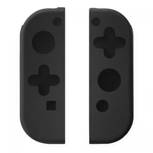 VX Gaming VX-118-BK Siege Series Controller Silicone Grip kit - Black (Nintendo Switch)