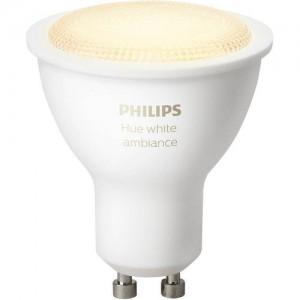 Philips Hue GU10 Smart Bulb - White Ambiance