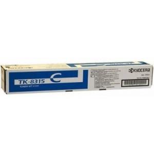 Kyocera TK8315C Cyan Microfine Toner Kit for 2550ci