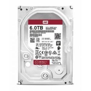 """Western Digital WD6003FFBX Red Pro 6TB 3.5"""" SATA 256MB Hard Disk Drive"""