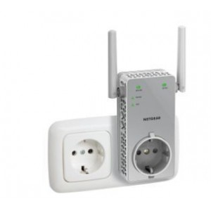 Netgear N.EX3800-100PES AC750 Universal Dual-band WiFi Range Pass-Thru Extender