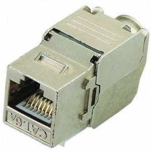 Unbranded LE-K055S-C6A CAT6A Shielded Keystone
