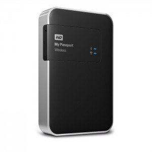 WD 1TB Mypassport Wireless USB3.0, WiFi, SD HDD