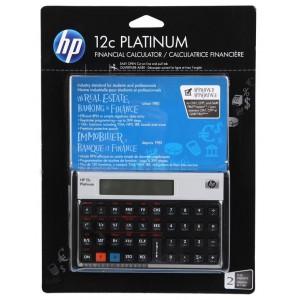 HP H12CP Platinum Financial Calculator