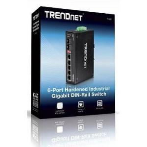 Trendnet TI-G62 6-port Hardened Industrial Gigabit Switch