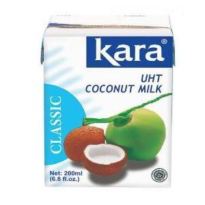 Kara 209837000EA Classic Uht Coconut Milk 200ml