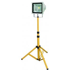 ACDC 30W LED Floodlight +Stand 2000x295mm 6400K Daylight