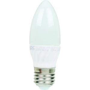 ACDC T-LEDB35R-E27-CW/3 230VAC Cool White LED Candle Lamp 3W E27 /3 Pack