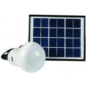 Portable Solar 4 Light Kit