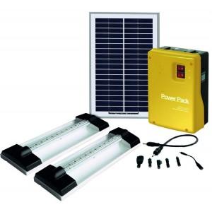 Solar Home Light Kit 2 x 1.5W LED Light