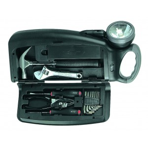 ACDC Tool Kit C/W Torch Excl. Batteries
