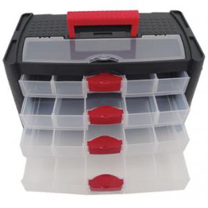 Storage Box with 4 Drawers 415x225x240mm