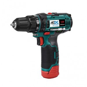 ACDC 12V 2.0AH Cordless Drill 2 Speed 10mm Chuck