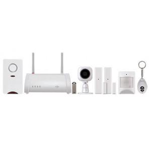 WIFI Camera and Motion Sensor Alarm Kit