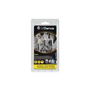 iDance ID-C2-BK Connect-C2 3.5mm 1-2 Splitter - Black