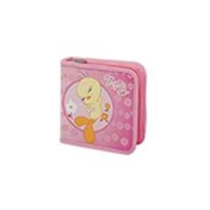 Tweety W50001-C-Pink 40 CD Wallet