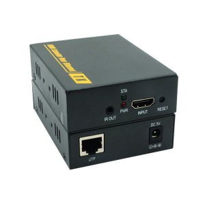 HDMI Extender Transmitter + Receiver Kit (Up to 120m) Over Single Cat5e/6  Bidirectional IR UTP