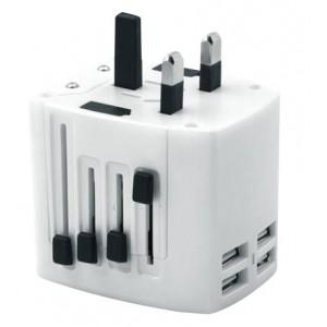 Volkano VK-8018-BK Worldwide Series Travel Adaptor Plug