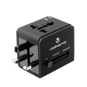 Volkano VK-8016-BK International Series Travel Adaptor Plug