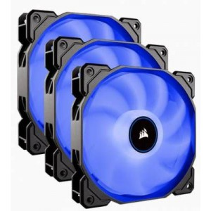 Corsair CO-9050084-WW Air Series AF120 LED (2018) Blue 120mm Fan Triple Pack