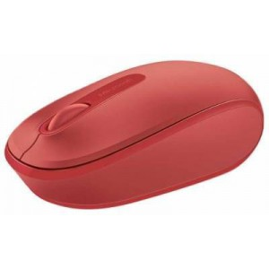 Microsoft WRLSMM1850FPP-FRD 1850 Flame Red Wireless Mobile Mouse - FPP