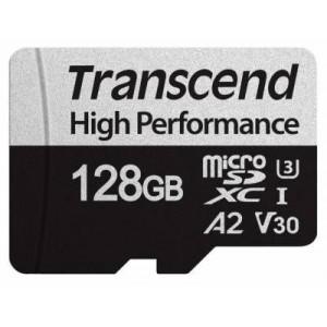 Transcend TS128GUSD330S High Performance MicroSDXC/SDHC Class 10 UHS-I U1/U3 V30 A2