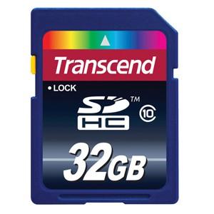 Transcend High Performance Secure Digital HC Class 10 Flash Memory - 32GB