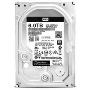 """WD WD6003FZBX Black 6TB 3.5"""" SATA3(6Gb/s) Hard Disk Drive"""