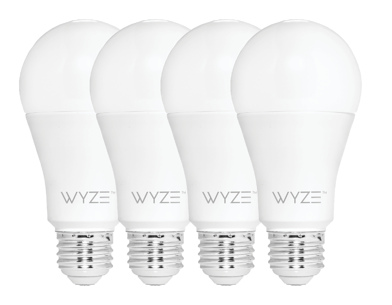 Wyze Bulbs (4 Pack) 800 Lumen Tunable White LED WiFi Bulbs
