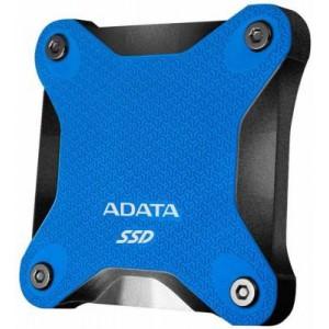 Adata EH-A480SD600Q-L SD600Q Series Black & Blue 480Gb External 3Dnand/QLC Solid State Drive