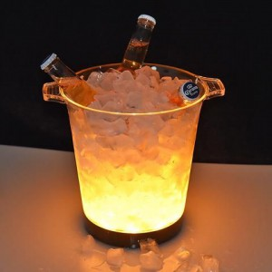 Crystal Aire WT-500BUC Ice Bucket with LED