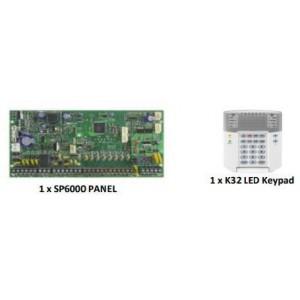 Paradox SP 6000/K32 Keypad Full Kit With 10 Pro Passives