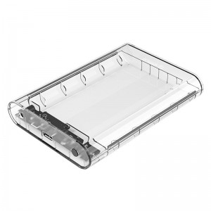 Orico 3139U3-SA-CR-BP 3.5 USB3.0 External HDD Enclosure - Transparent