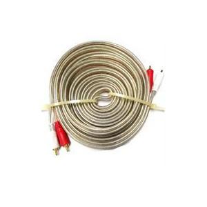 Geeko AVC-002 5m Braided Dual Cinch RCA Audio Cable