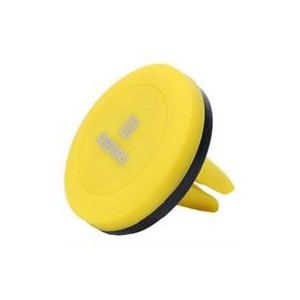 Remax RM-C10-YLW Magnetic Car Phone Holder - Yellow