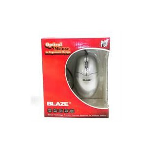Geeko BL-M0205S Silver PS2 Optical Mouse