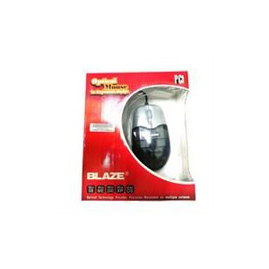 Geeko BL-M0205 Black/Silver PS2 Optical Mouse