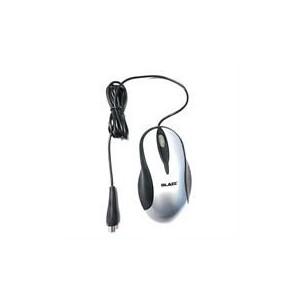 Geeko MO-204 Black/Silver PS2 Optical Mouse