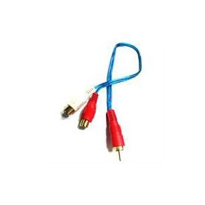 Geeko AVC-3PIN-001 RCA Y Splitter Audio/Video Cable