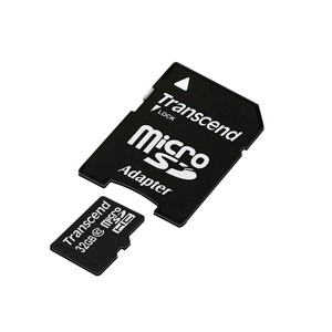 Transcend Ultra Performance MicroSDHC Class 10 UHS-I Premium Card - 32GB