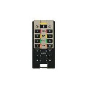 Paradox REM3 Hand-Held Two-Way Remote Control Keypad - 433MHz