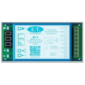 E.T System PA4572 Multi RX-3 ch Receiver