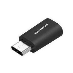 Volkano VK20037BK Micro Adapt Series Type C To Micro USB Adapter
