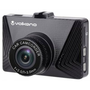 Volkano VK10007BK Suburbia Series Black 720P Dash Camera
