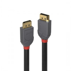 Lindy 36482 2m DisplayPort 1.4 Cable, Anthra Line
