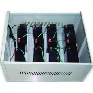 C10 Steel Battery Cabinet - Holds 10x 100Ah batteries (incl circuit breaker)