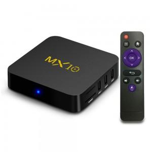 MX10 Smart TV Box - Android Media Player Streamer - 4 X USB, Remote Control